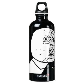 Y U NO (Original) - Water Bottle