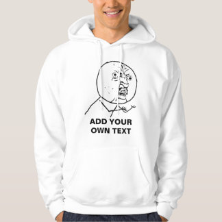 y u no rage face comic lol rofl hoodie