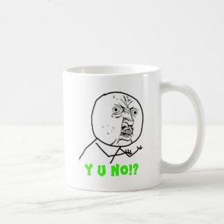 Y U No (with text) Coffee Mug