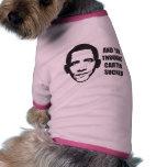 Y usted pensó Carretero chupado Camiseta De Perro