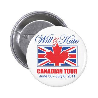 Y VIAJE CANADIENSE DE KATE PINS