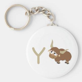 Y - Yak Keychain