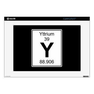 """Y - Yttrium 15"""" Laptop Decal"""