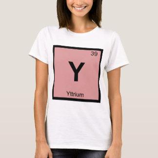 Y - Yttrium Chemistry Periodic Table Symbol T-Shirt