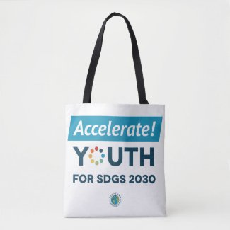 YA26 Accelerate Youth for SDGs Tote Bag