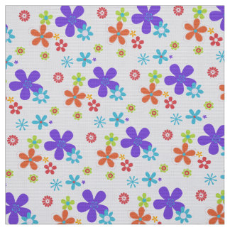 Retro fabric for upholstery quilting crafts zazzle for Retro baby fabric