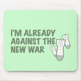 Ya contra la nueva guerra tapete de raton