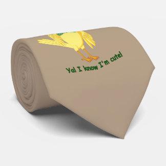 Ya! I know I'm cute! Tie