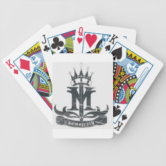 Ya Majesty clothing and accessories Bicycle Playing Cards
