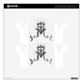 Ya Majesty clothing and accessories Decal For PS3 Controller