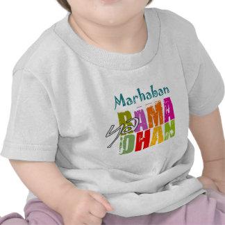 Ya Ramadhan de Marhaban Camiseta