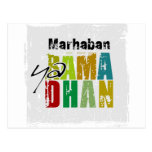 Ya Ramadhan de Marhaban Tarjeta Postal