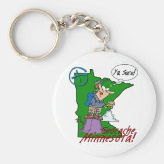 Ya Sure! Minnesota Cacher Keychain #2