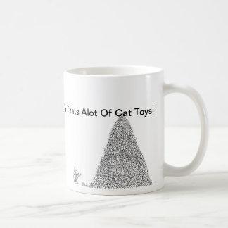 Ya Thats alot of cat toys mug