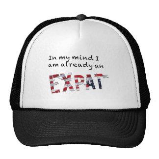 Ya un Expat en mi mente Gorras