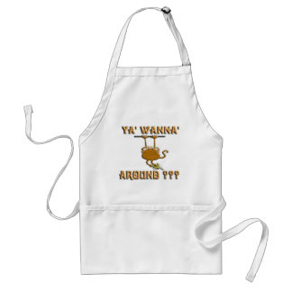 Ya' Wanna' Monkey Around Adult Apron