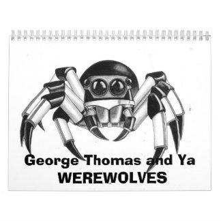Ya y George Thomas Calendarios De Pared