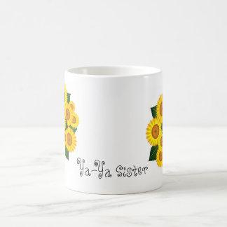 Ya-Ya Sunflower Classic White Coffee Mug