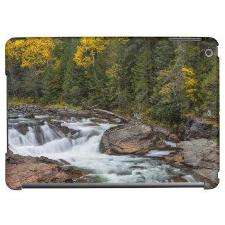 Yaak Falls In Autumn In The Kootenai National Case For iPad Air