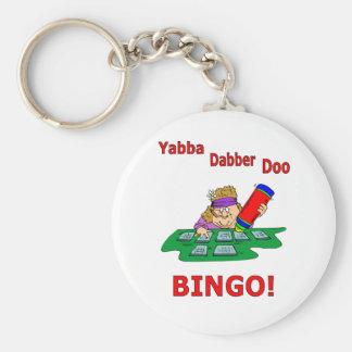 Yabba Dabber Doo - BINGO Keychain