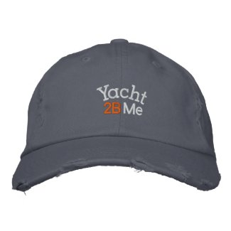 Yacht 2B Me™_Casual embroideredhat