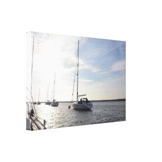 Yacht Amanda Louise II Canvas Print