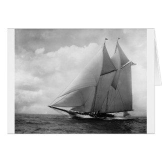 Yacht America c1910 Card