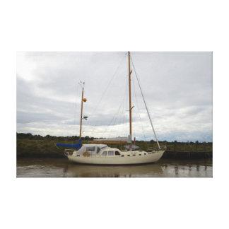 Yacht Aska Canvas Print