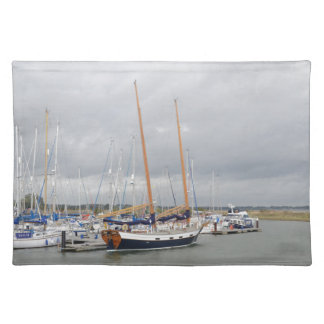 Yacht Barn Owl Cloth Placemat