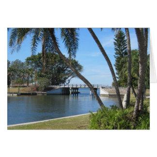 Yacht Basin, Bradenton, Florida Greeting Card