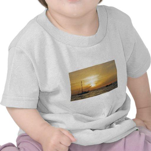 Yacht Blue Moon T-shirts