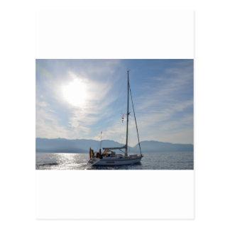 Yacht Borrachon Postcard