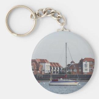 Yacht Bueno Key Chain