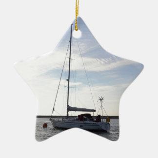 Yacht Clara Ceramic Ornament