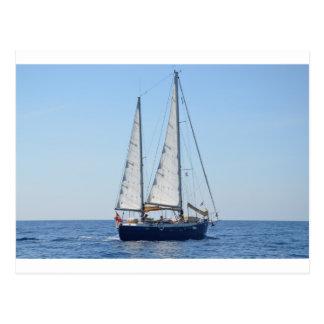 Yacht Cleophea Postcard
