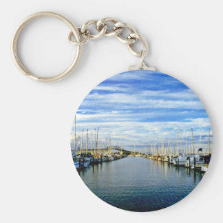 Yacht Club, Auckland Harbor, North Island Keychains