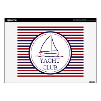 Yacht Club Decals For Laptops