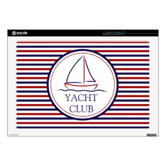 Yacht Club Laptop Skin