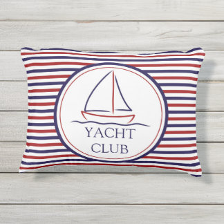 Yacht Club Outdoor Pillow