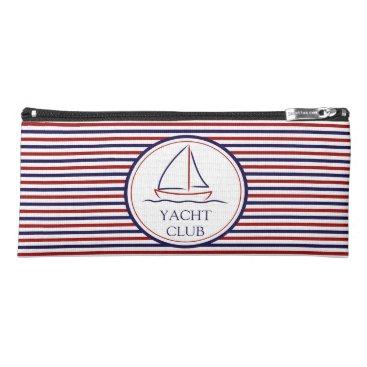 Ocean Themed Yacht Club Pencil Case