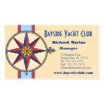 Yacht Club, Sailing Club, Marina, Nautical Shop Business Card Templates
