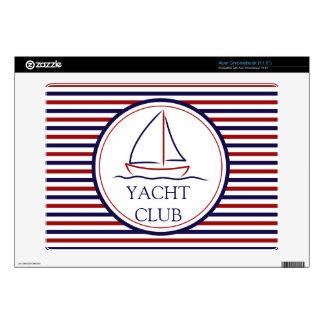 Yacht Club Skin For Acer Chromebook