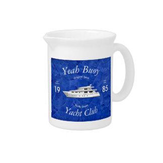 Yacht Club Yeah Buoy Pitcher