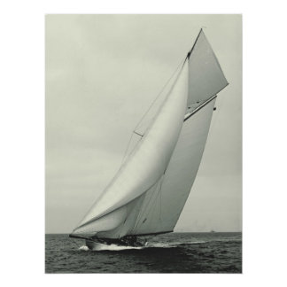 Yacht 'Columbia' 1901 Poster