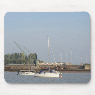Yacht Egale Mouse Pads