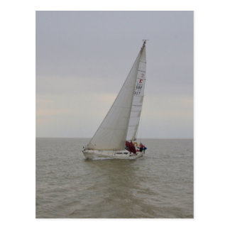 Yacht Floozie Of Kerry Postcard
