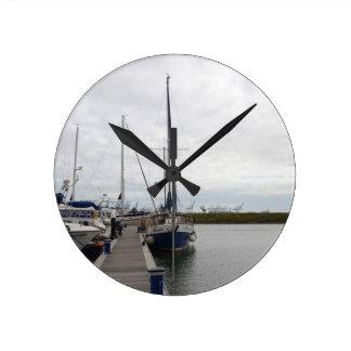 Yacht Francesca Round Clock