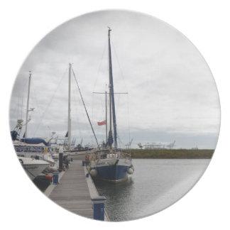 Yacht Francesca Melamine Plate