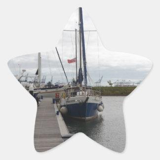 Yacht Francesca Star Sticker