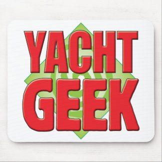 Yacht Geek v2 Mouse Pad